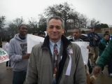 Rick Koster at Martin Luther King Unity walk